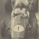 Graham Hill at the viaduct