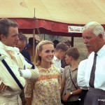 Piers Courage - wife and Gov Sandown '68