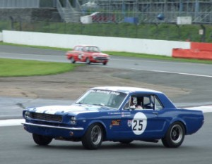 Neil in s a Mustang