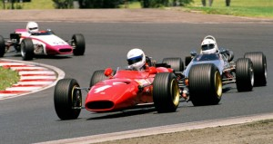 2008 Winner Rob Hall in Ferrari 246T Dino