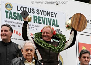 John Smith, winner of the Revival Feature, and Sir Jack