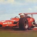 Graeme Lawrence in the ex-Amon Ferrari 2.4 V6