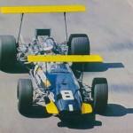 Piers Courage Brabham 1969