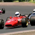 2008 Winner Rob Hall in Ferrari 246T Dino