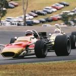 John Smith in Lotus 49